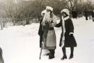 Дед Мороз со Снегурочкой в Половинном