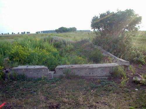 На месте Новозаводки остался лишь фундамент.