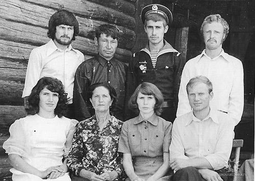 семья Жуковых.