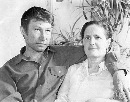 Николай Иванович Жуков с супругой.