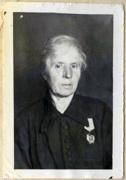 Александра Прокопьевна Сорокина.