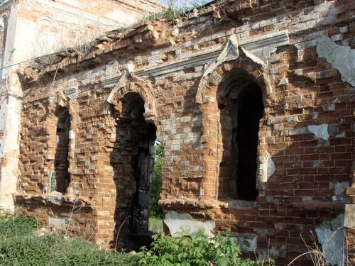 Сегодняшнее состояние Покровской церкви.
