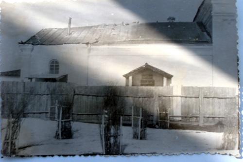 Фрагмент Половинской церкви.