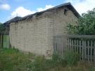 Старинная саманная постройка